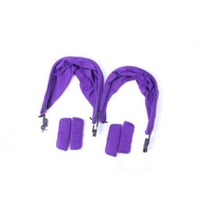 Baby Monsters Easy Twin 2.0 Color Accessories Pack - includes Canopies Liners Shoulder Pads - Purple - Stroller Sun Shade Canopy