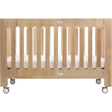 Load image into Gallery viewer, Bloom Alma Max Solid Wood Crib - Natural - Portable Folding Crib