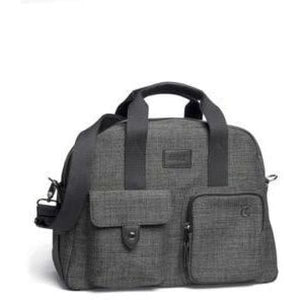 Bowling Style Changing Bag - Chestnut Tweed - Stroller Bag