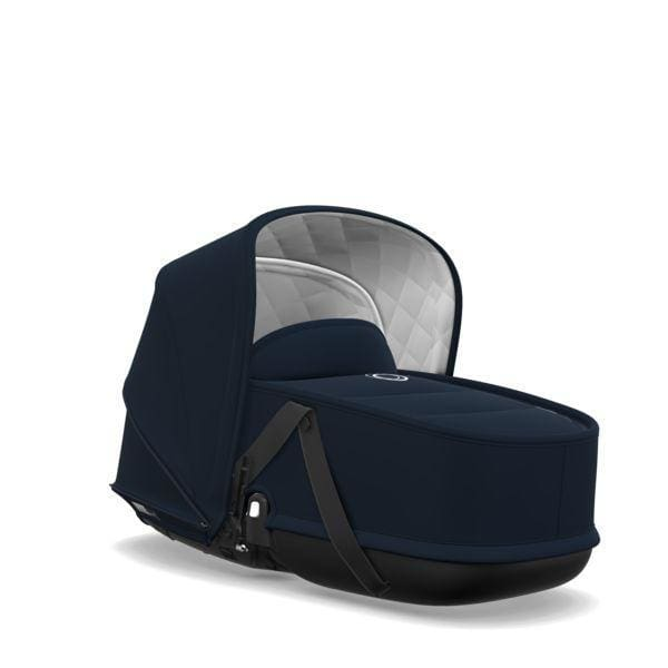 Bugaboo Bee Bassinet Tailored Fabric Set - Classic: Dark Navy - Stroller Bassinet