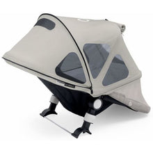 Load image into Gallery viewer, Bugaboo Buffalo Breezy Sun Canopy - ARCTIC GREY - Stroller Sun Shade Canopy