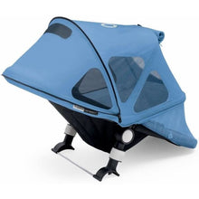 Load image into Gallery viewer, Bugaboo Buffalo Breezy Sun Canopy - ICE BLUE - Stroller Sun Shade Canopy