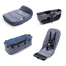 Load image into Gallery viewer, Bugaboo Donkey² Base Fabrics - BLUE MELANGE - Stroller Bassinet Accessories