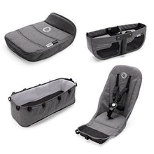 Load image into Gallery viewer, Bugaboo Donkey² Base Fabrics - GREY MELANGE - Stroller Bassinet Accessories