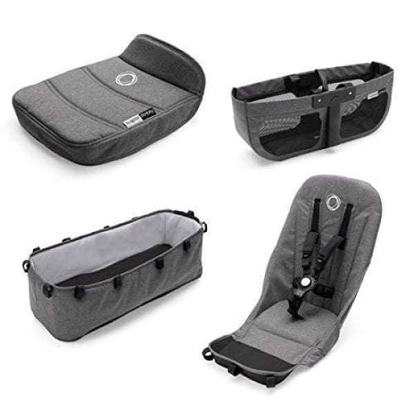Bugaboo Donkey² Base Fabrics - GREY MELANGE - Stroller Bassinet Accessories