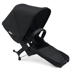 Bugaboo Donkey² Duo Extension Set Complete - Black / Black - Black - Double Stroller