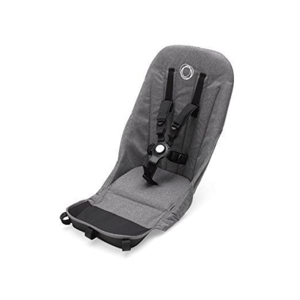Bugaboo Donkey² Tailored Fabric Set - GREY MELANGE - Stroller Seat Liner