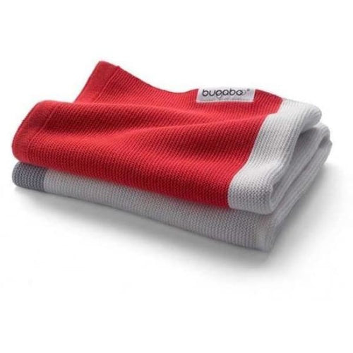 Bugaboo light cotton blanket - Neon Red - Baby Blanket