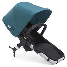 Load image into Gallery viewer, Bugaboo Runner Stroller Seat - BLACK / PETROL BLUE - Stroller Seat