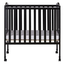 Load image into Gallery viewer, Dream On Me 2 in 1 Lightweight Folding Portable Crib - Black - Portable Folding Crib