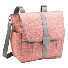 Load image into Gallery viewer, JJ Cole Backpack Diaper Bag - Coral Tile - Stroller Bag