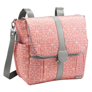 JJ Cole Backpack Diaper Bag - Coral Tile - Stroller Bag