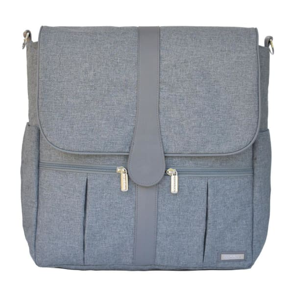 JJ Cole Backpack Diaper Bag - Gray Heather - Stroller Bag