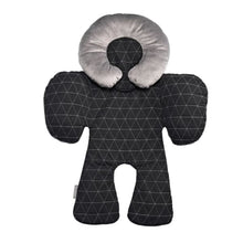 Load image into Gallery viewer, JJ Cole Body Support - Black Triangle Stitch - Baby Body Cushion