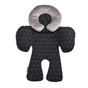 JJ Cole Body Support - Black Triangle Stitch - Baby Body Cushion