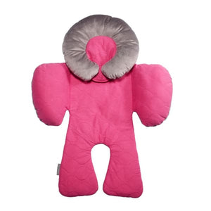 JJ Cole Body Support - Sassy Pink Wave Stitch - Baby Body Cushion