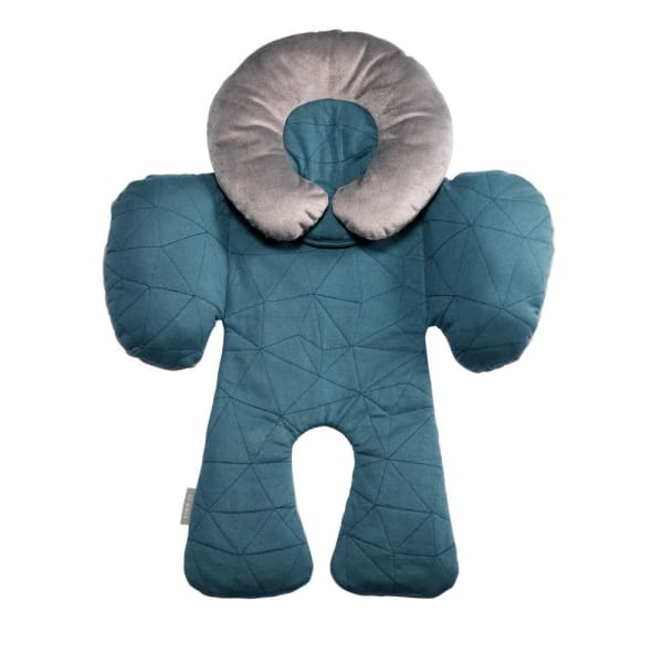 JJ Cole Body Support - Teal Fractal - Baby Body Cushion