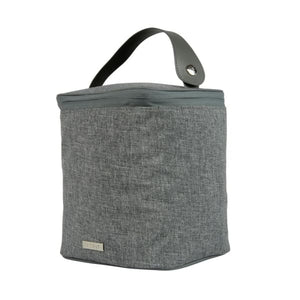 JJ Cole Bottle Cooler - Holds Four (4) - Gray Heather - Baby Feeding
