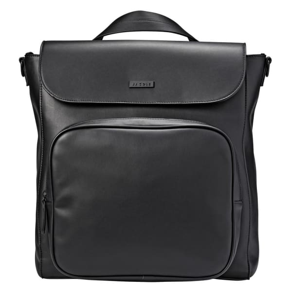 JJ Cole Brookmont Backpack - Black Pu - Stroller Bag