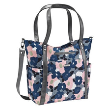 Load image into Gallery viewer, JJ Cole Bucket Tote Bag - Heathered Floral - Stroller Bag