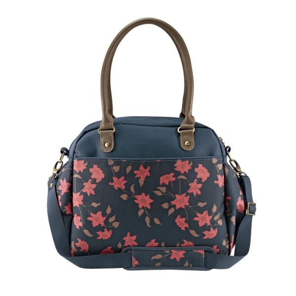 JJ Cole Carry All Bag - Navy Floral - Stroller Bag