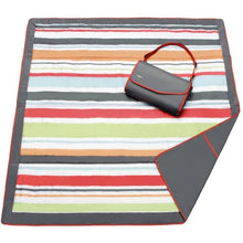 Load image into Gallery viewer, JJ Cole Outdoor Mat - Gray Red / 5 X 5 - Play Mat