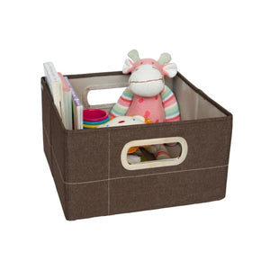 JJ Cole Storage Box - Cocoa Heather / 6.5 In. (Short) - Storage & Organization