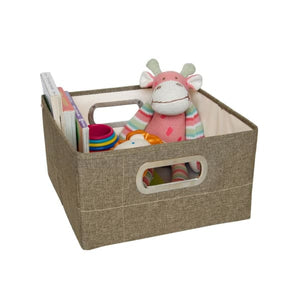 JJ Cole Storage Box - Greige Heather / 6.5 In. (Short) - Storage & Organization