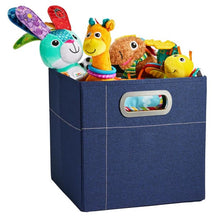 Load image into Gallery viewer, JJ Cole Storage Box - Navy Heather / 11 In. (Tall) - Storage & Organization