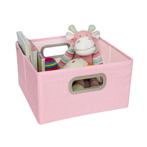 JJ Cole Storage Box - Pink Heather / 6.5 In. (Short) - Storage & Organization