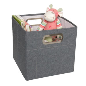 JJ Cole Storage Box - Slate Heather / 11 In. (Tall) - Storage & Organization