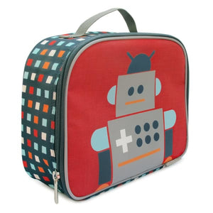 JJ Cole Toddler Lunch Bag - Robot - Toddler Gear