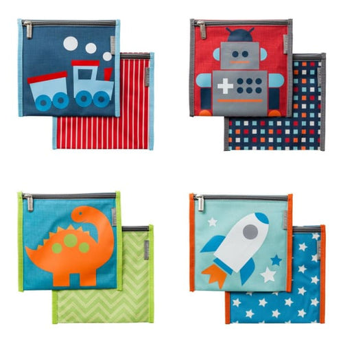 JJ Cole Toddler Snack Bag Set - Boy - Toddler Gear