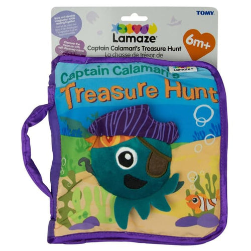 Lamaze Captain Calamari S Treasure Hunt Soft Book - Baby Toys & Activity