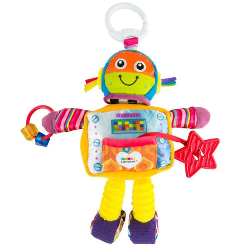 Lamaze Clip & Go Mitchell Moonwalker - Baby Toys & Activity