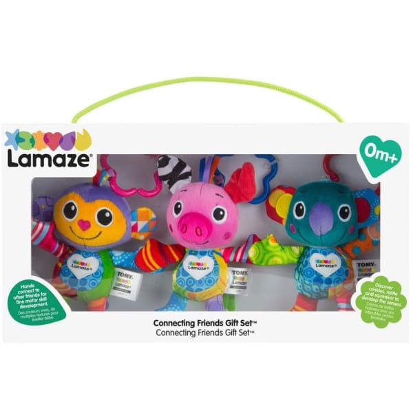 Lamaze Connecting Friends In Gift Box - Baby Toys & Activity