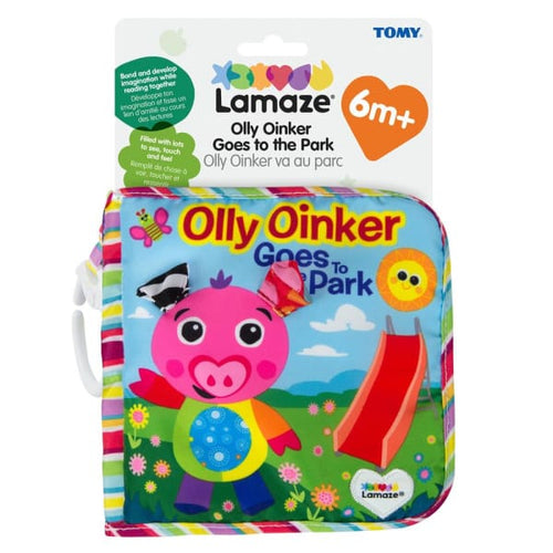 Lamaze Olly Oinker Goes To The Park (English) - Baby Toys & Activity