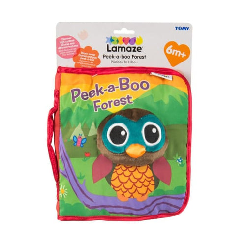 Lamaze Peek-A-Boo Forest Soft Book - Baby Toys & Activity
