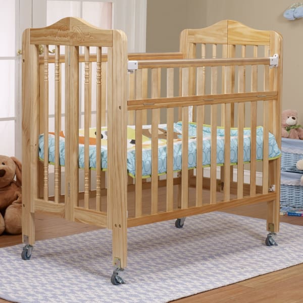 Nathalie Mini Portable Crib - Natural - Portable Folding Crib