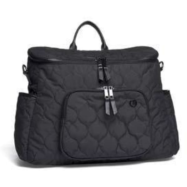 Satchel 2 Way Bag - Black - Stroller Bag