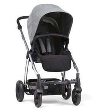 Load image into Gallery viewer, Sola² Chrome Stroller - Grey Marl - Convertible Stroller