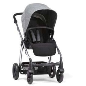 Sola² Chrome Stroller - Grey Marl - Convertible Stroller