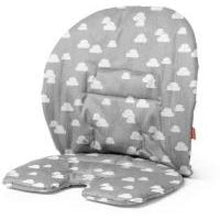 Load image into Gallery viewer, Stokke Steps Cushion - Grey Clouds - High Chairs
