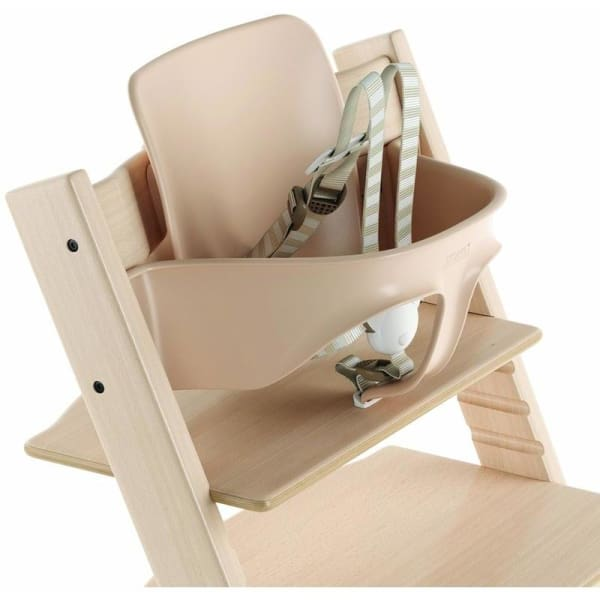 Stokke Tripp Trapp Baby Set With Extended Glider - Beech / Natural - High Chairs