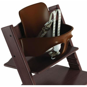 Stokke Tripp Trapp Baby Set With Extended Glider - Beech / Walnut Brown - High Chairs