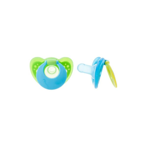 The First Years Gumdrop Hospital Pacifier With Ring 6-18 M Boy - Pacifiers