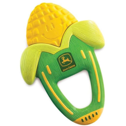 The First Years John Deere Massaging Corn Teether - Baby Toys & Activity