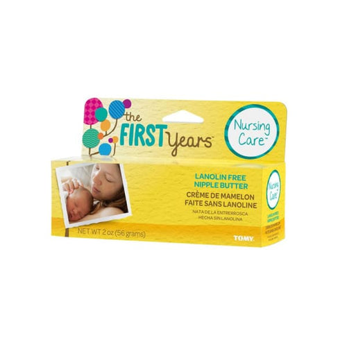 The First Years Nursing Care Lanolin-Free Nipple Butter - Baby Feeding