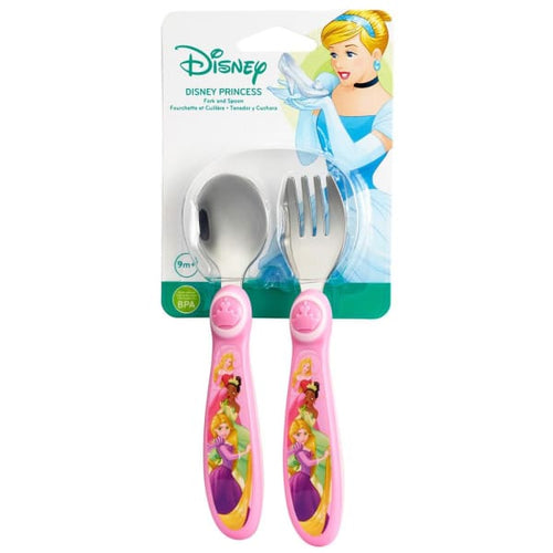 The First Years Princess Easy Grasp Sculpted Flatware - Baby Feeding