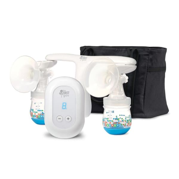 The First Years Quiet Expressions Plus Rechargeable Pump - Double - Baby Feeding
